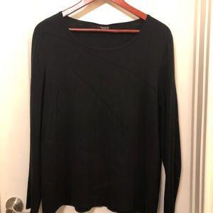 LAFAYETTE 148 New York Intarsia Sweater